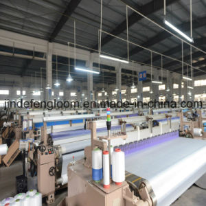 Cam Shedding Three Nozzle Water-Jet Weaving Loom Textile Machinery pictures & photos