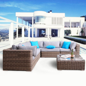 Hot Sale Cheap Manufacturer Rattan / Wicker Outdoor Furniture Sofa S242 pictures & photos