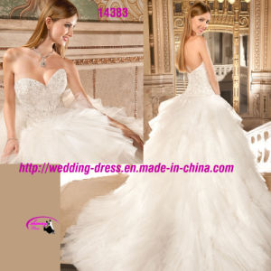 Beautiful Sweetheart Beading Gowns Dress with Zipper up pictures & photos
