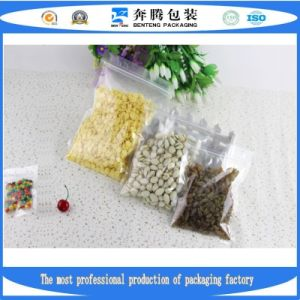 Factory Production Zipper Bags, Plastic Food Packaging Bags pictures & photos