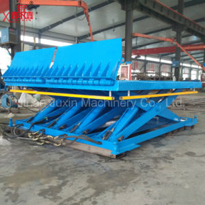 Warehouse Used Cargo Loading Unloading Lift Platform Higher Leveler pictures & photos