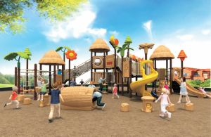Trade Assurance Approved New Style Outdoor Toddler Playground Set pictures & photos