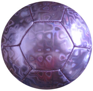 Sports Toy Machine Stitched Laser Soccer Ball pictures & photos