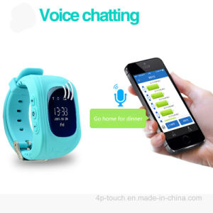 Anti-Lost Positioning GPS Kids Tracker Watch with GPS Tracking pictures & photos