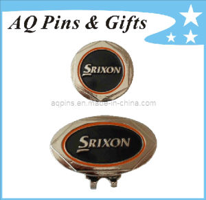 Soft Enamel Hat Clip with Ball Marker (Golf-19) pictures & photos