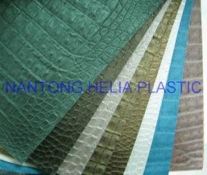 Soft PVC Artificial Decorative Leather (HL21-06) pictures & photos
