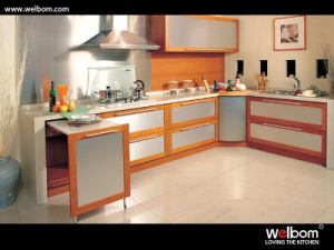 2015 [ Welbom ] Stainless Steel Customized Kitchen Cabinet pictures & photos
