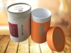 Cylinder Boxes OEM Round Cardboard Packaging Paper Gift Box Wholesale pictures & photos
