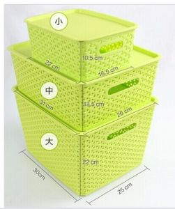 High Quality Promotional New Design Plastic Storage Box pictures & photos