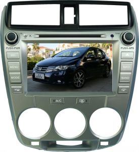 Car DVD with GPS Navigation for Hcity (GM-8026A)