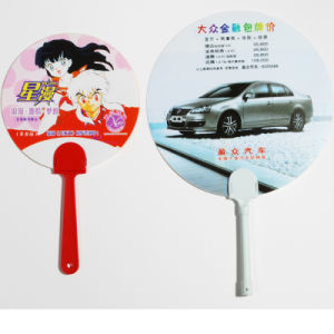Customized Plastic Hand Fan for Promotion pictures & photos