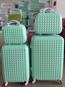 ABS Luggage Trolleycase Travelcase Beautycase 5PCS Sets pictures & photos