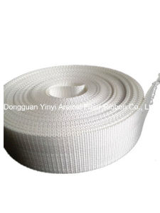 High Strength White Polyester Webbing for Industrial Hoisting pictures & photos