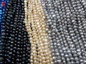9-10mm AA Nugget Pearls Strands pictures & photos
