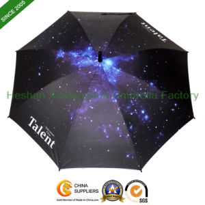 New Items Digital Printing Double Ribs Promotional Advertising Umbrellas (SU-0023BDD) pictures & photos