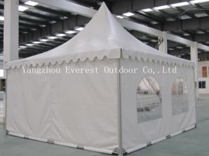 5X5m White PVC Pagoda Tent pictures & photos