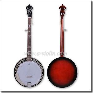 Mahogany Plywood 5 String Remo Banjo (ABO245M) pictures & photos