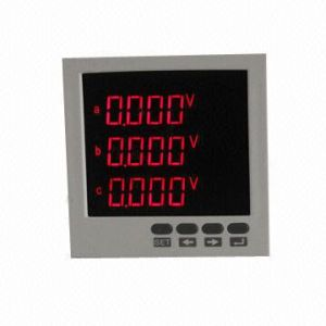 Digital AC Voltmeter with LED Display pictures & photos