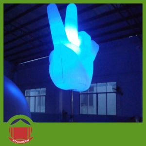 Hot Selling PVC Material Inflatable Hand for Vocal Concert Stage pictures & photos