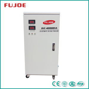 Three Phase Automatic Voltage Regulator Pdr-40000va Input 260-430VAC Output 380VAC pictures & photos
