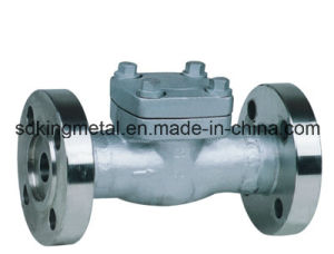 Cast Steel 300lbs Flange End Swing Check Valve with CE pictures & photos