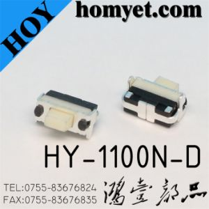 High Quality Tact Switch with SMD Type (HY-1100N-D) pictures & photos