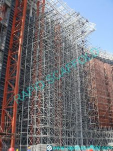 High Building Construction Steel Galvanized Ringlock System Project pictures & photos