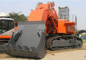 Hydraulic Shovel Excavator with 8cbm Bucket pictures & photos