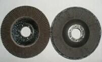 High Temperature Aluminium Oxide Flap Disc with Fibreglass Backing