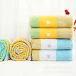 Cotton Jacquard Towel Bathtowel Towellling Coverlet (xinya010)