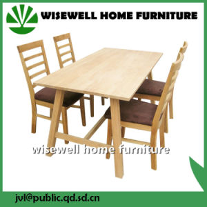 Dining Room Set Classic Wooden Dining Room Furniture (W-DF-9035) pictures & photos