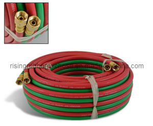Working Pressure 20 Bar 300 Psi Oxygen Hose/Welding Hose pictures & photos
