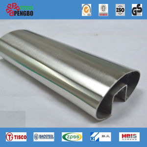 304 316 Stainless Seamless Steel Slot Pipe pictures & photos
