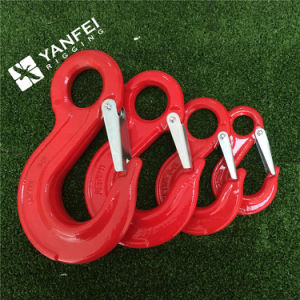 Red Painted Alloy Steel G80 Hook pictures & photos