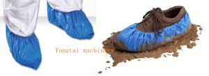 Best Price Disposable PE Plastic Shoe Cover Making Machine pictures & photos