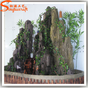 2015 New Design Decorative Indoor Artificial Waterfall Rocks pictures & photos