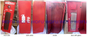 Fire Extinguisher Cabinet with Glass Window pictures & photos