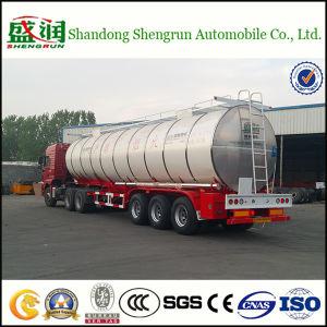 Miro Stainless Steel Claded Asphal Bitumen Tanker Trailer