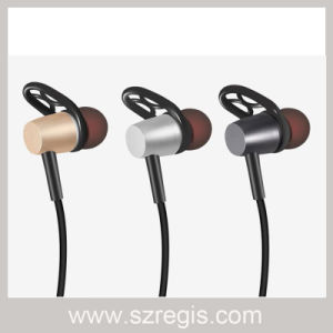 Waterproof Magnetic Suction Stereo Wireless Jual Bluetooth Headset for Phone pictures & photos