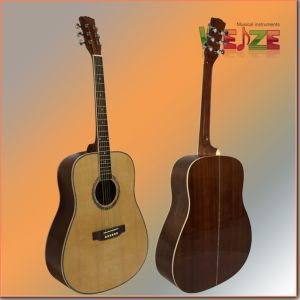 """41""""High Level Spruce Sapele Plywood Acoustic Guitar pictures & photos"""