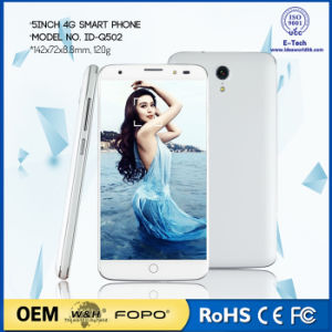 5 Inch Android 6.0 Mtk6735p Quad Core 4G Smart Cell Phone pictures & photos