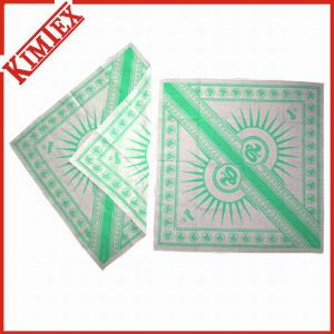 100% Cotton Promotional Printing Square Bandana pictures & photos