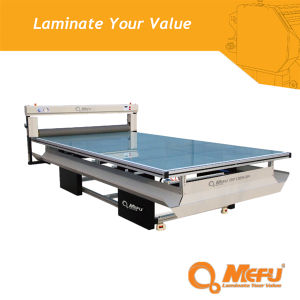 (MF1325-B4) Mefu Pneumatic Heat-Assist Cold Flatbed Laminator for Signage and Graphic pictures & photos