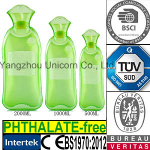 Long BS PVC Hot Water Bottle