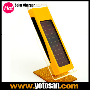 Mini 800mAh Portable Solar Power Panel Battery Charger 3 LED Light for Mobile Cell Phone pictures & photos