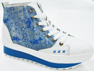 Hot Beads Jeans MID-Ankle Lady Shoes