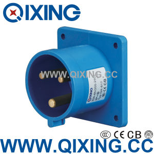 Industrial Wall Mounted Plug with IEC Standard (QX-817) pictures & photos