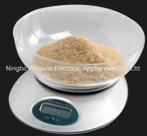 Electronic Kitchen Food Scales with Bowl pictures & photos