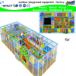 High Quality Indoor Playground with Slide Equipment (H15-6025) pictures & photos