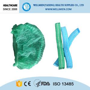 Disposable Nonwoven Bouffant Cap Medical Hair Cap pictures & photos